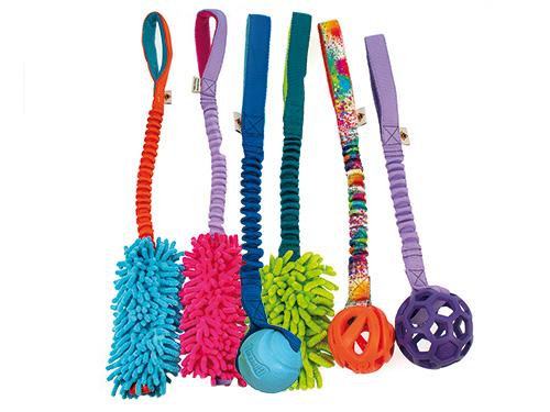Blogartikel: Bungee-Spielzeug Mopik Krabik & Co.
