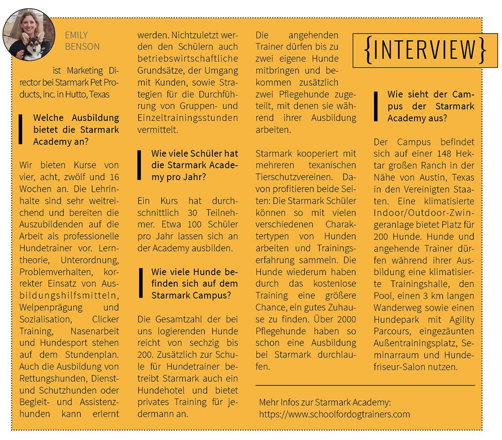 Interview mit Emily Benson